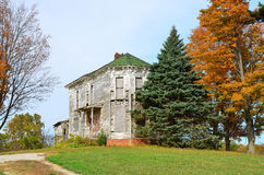 Old mansion in countryside Royalty Free Stock Image