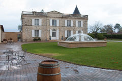An old mansion house. Mansion House in the France stock photography