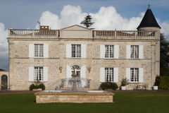 Old mansion house in France. Old and beautiful mansion house in France royalty free stock photo
