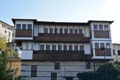 Old mansion in Kastoria , Greece Stock Images
