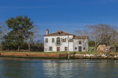 The old mansion by the sea Royalty Free Stock Photography