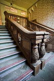 Old mansion staircase Stock Photos
