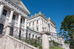 The old mansion of the 18th century - the Pashkov House. Currently, the Russian State Library in Moscow Stock Image