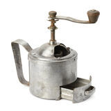 Old manual coffee grinder Royalty Free Stock Photo