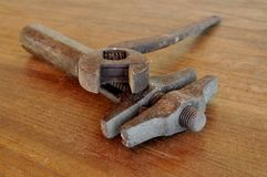 Old Manual Tools Royalty Free Stock Images