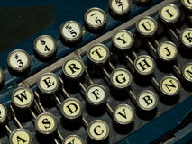 Old, Manual Typewriter Stock Images