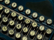 Old, Manual Typewriter Stock Photo