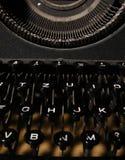 Old Manual Typewriter Keyboard Royalty Free Stock Image