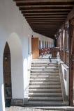 Old Manuc inn Bucharest Stock Image