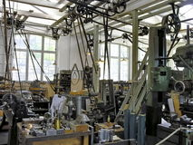 Old manufacturing industrial Stock Image