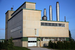 Old Manufacturing Plant Stock Image