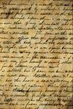 Old manuscript. An old paper background manuscript Stock Photos