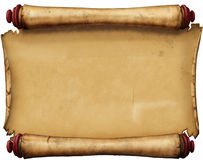 Old manuscript. Photoshop. Genius Tablet Royalty Free Stock Photo
