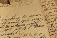 Old manuscript Royalty Free Stock Image