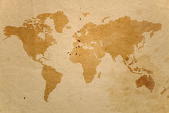 Old map. Grunge background old map image royalty free illustration