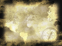 Old map. Background can use the Internet, print advertising and design Royalty Free Stock Photo