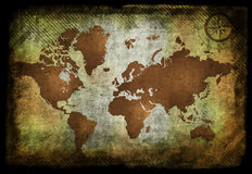 Old map Royalty Free Stock Photography