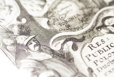 Old-map Royalty Free Stock Photography