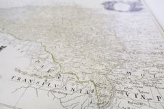 Old-map Royalty Free Stock Photo
