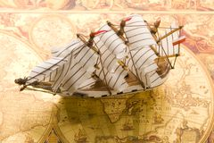 Free Old Map Stock Photo - 9234460