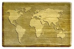 Old map background. An old map background design Stock Photography