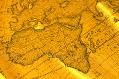 Old map D Stock Photo