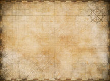 Old map exploration background Stock Photography