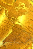Old map A Stock Photography