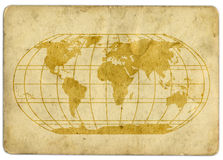 Old map Royalty Free Stock Photo