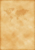 Old map of world. As a background stock photos