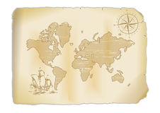 Old map Stock Photos