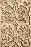 Old marble bas-relief Stock Photo