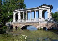 Old Marble bridge Royalty Free Stock Photography