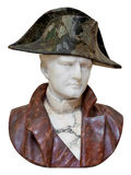 Old marble bust of  Napoleon Royalty Free Stock Photos