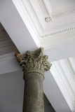 Old marble column Royalty Free Stock Photography