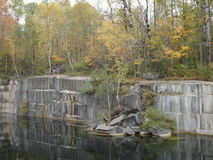 The Old Marble Quarry Stock Photography