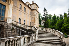 Old marble staircase Stock Photography