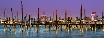 Old Marina Stock Image