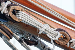 old marine rope Royalty Free Stock Photography