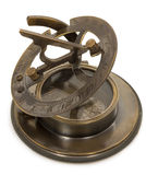 Old mariner's compass of the XIX century Royalty Free Stock Photo