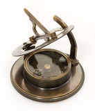 Old mariner's compass of the XIX century Stock Photos