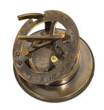 Old mariner's compass of the XIX century Stock Photo
