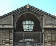 Old market. Iron structure Stock Images