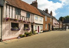 Old Market, Beccles, Suffolk Uk royalty free stock photography