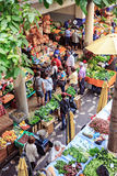 Old market of Funchal Stock Photography