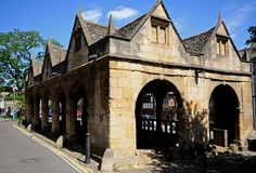 Old Market Hall, Chipping Campden. Royalty Free Stock Photo