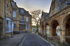 The Old Market Hall at Chipping Campden Royalty Free Stock Photo