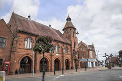 Old Market Hall in the market town of Sandbach England Royalty Free Stock Images