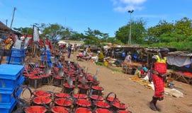 Old Market in Malindi town, Kenya Stock Photography