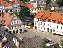 Old Market Place in Kazimierz Dolny, Poland Stock Photography
